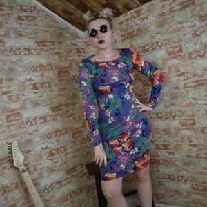 LulaRoe Debbie Floral Dress